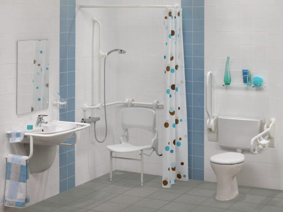 Aangepaste badkamer - Hoekstra Ontzorgexpert